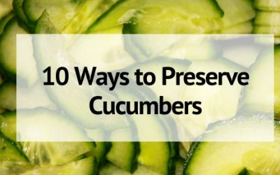 10 Delicious Ways to Preserve Cucumbers That Every Gardener Should Know!