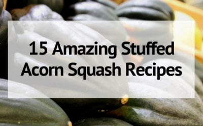 15 Amazing Stuffed Acorn Squash Recipes