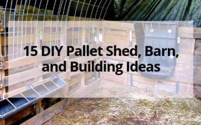 15 DIY Pallet Shed, Barn, and Building Ideas