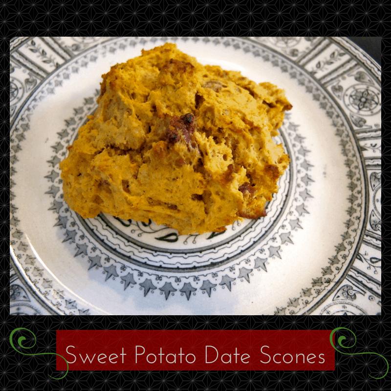 Sweet Potato Date Scones