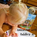 Big and Little: How to Homeschool with Little Ones in the House