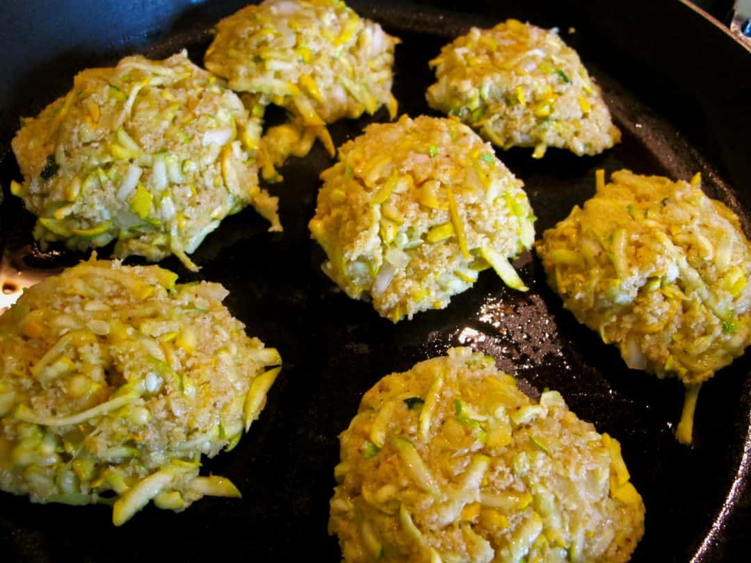 Do you need a new zucchini recipe? Try this quick, simple recipe for Poorman's Crab Cakes! This vegetarian version tastes just like the real thing!