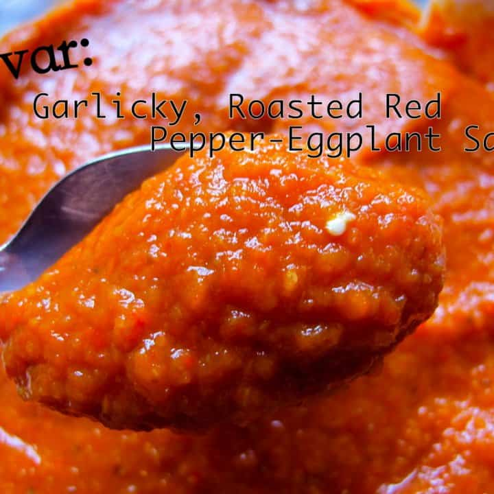 Ajvar Roasted Red Pepper Spread