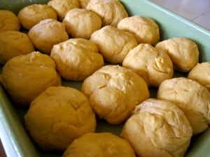 rising sweet potato yeast rolls