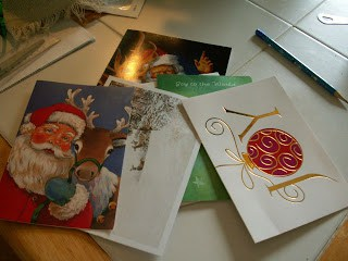 Recycled Christmas Card Boxes - The Free Range Life
