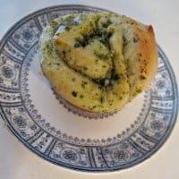 Pesto Dinner Rolls