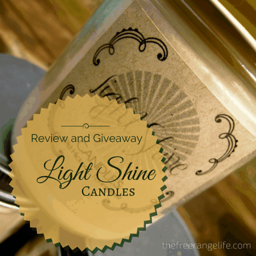 Review & Giveaway: Light Shine Candles