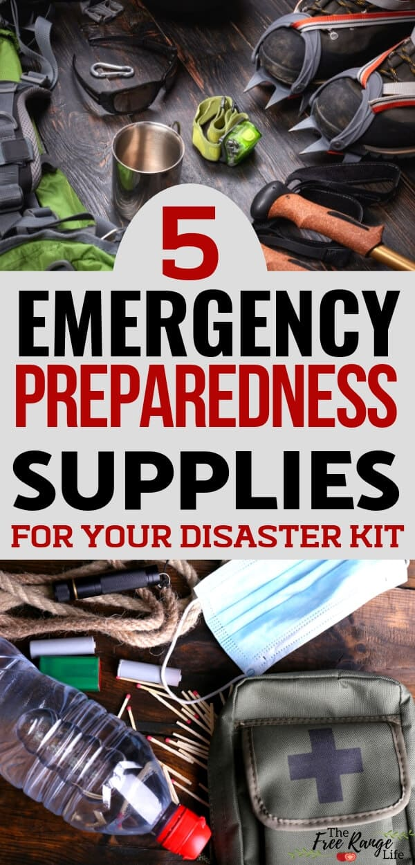 Homesteading and Survival: 5 preparedness supplies for your disaster kit
