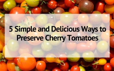 5 Simple and Delicious Ways to Preserve Cherry Tomatoes