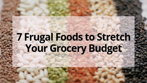 7 Frugal Foods to Stretch Your Grocery Budget When Money is Tight