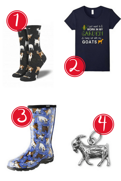 Goat Lovers Gift Guide: Here are 12 super cute gift ideas the crazy goat lady in your life is sure to love!