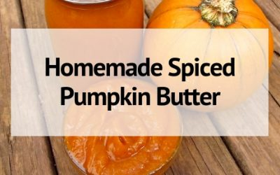 Easy Homemade Pumpkin Butter Recipe (Canned or Fresh Pumpkin!)
