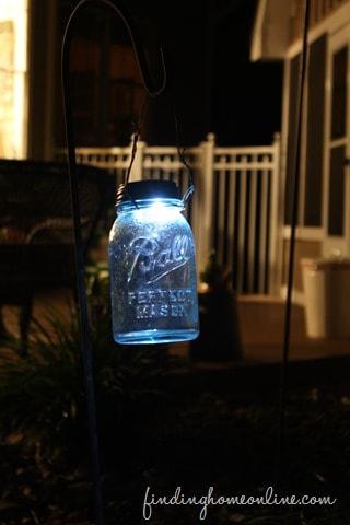 DIY Mason Jar Solar Light