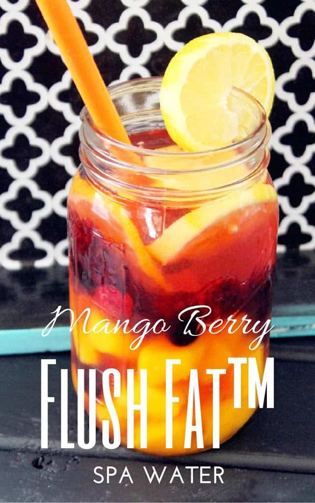 Flush Fat™ Mango Berry Spa Water
