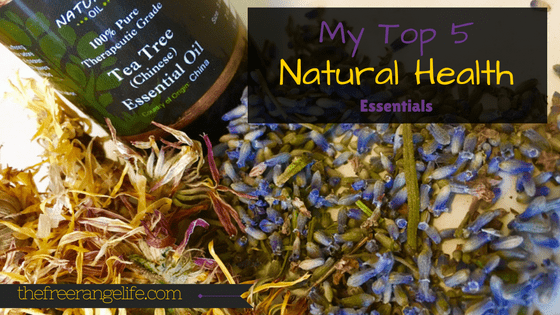My Top 5 Natural Health Essentials