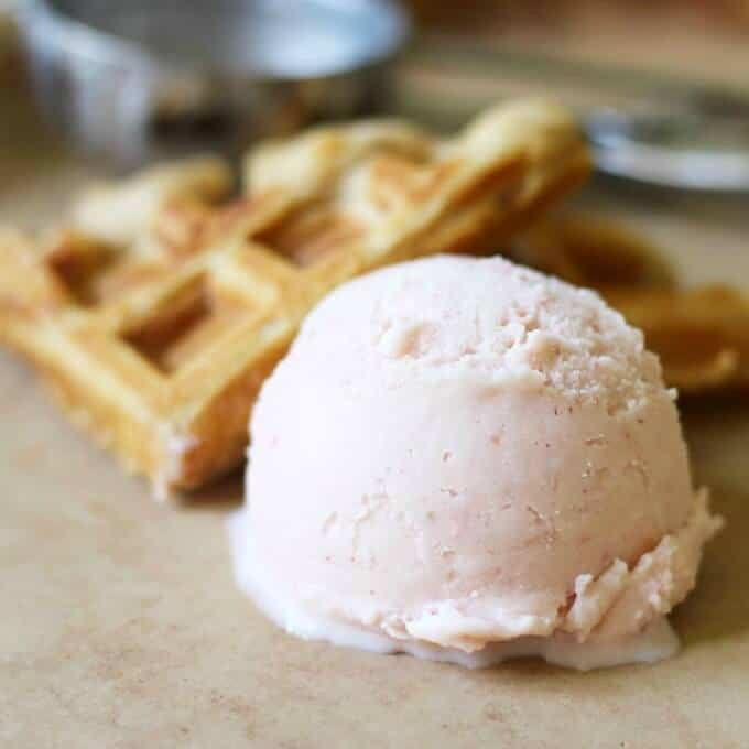 Creamy Real Food Watermelon Ice Cream
