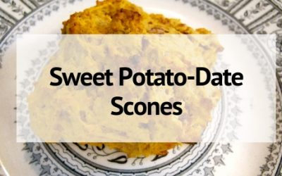 Sweet Potato-Date Scones