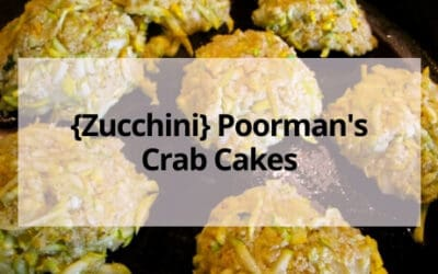 Mock Zucchini Crab Cakes (Just Like the Real Thing!)