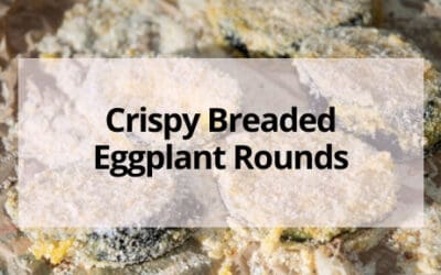 Baked Eggplant Crisps