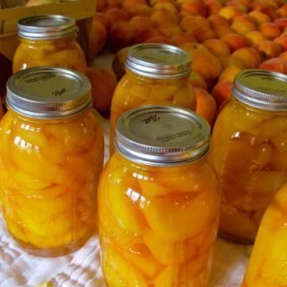 canning peaches- final canned peaches