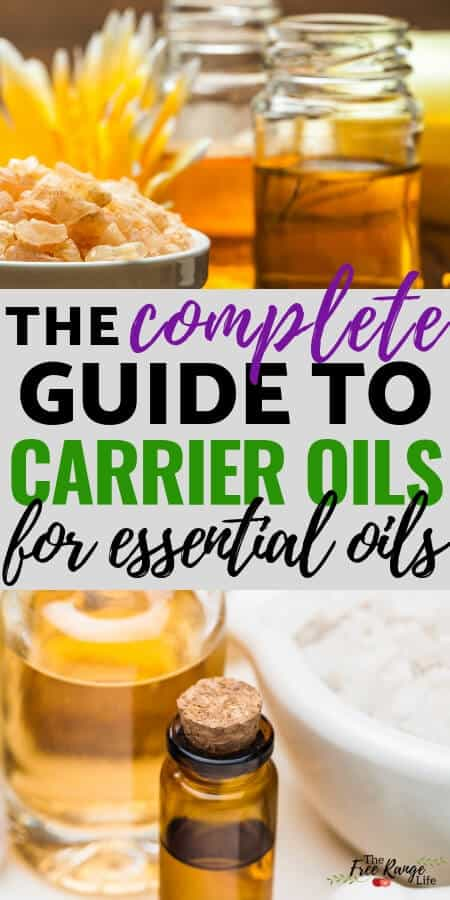Natural Health- What are carrier oils for essential oils- best carrier oils for your body, face, and hair