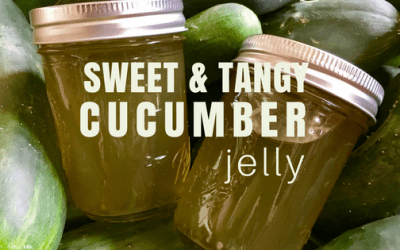 Sweet and Tangy Cucumber Jelly