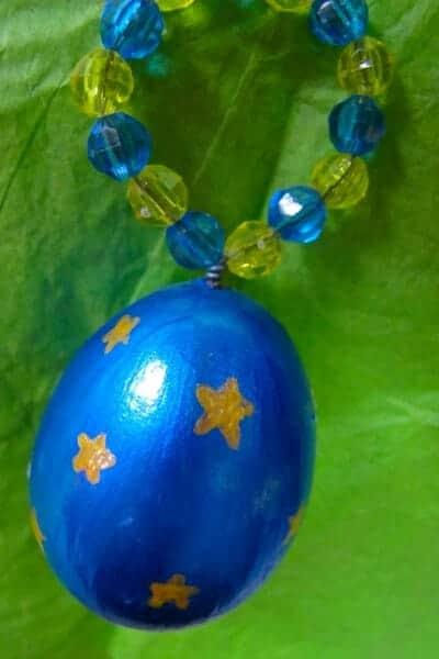 christmas ornament- egg ornament