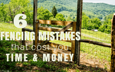 6 Fencing Mistakes That Cost You Time and Money