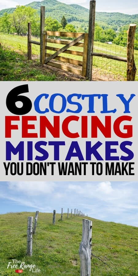 6 costly fencing mistakes you don't want to make with wood and wire fence and gate images