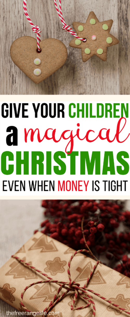 Is money tight this year? Don't let being broke get you down. You can still give your children the most magical Christmas ever! Learn how Christmas on a budget can still be amazing and memorable!