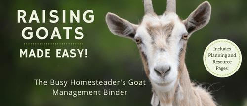 Goat Binder