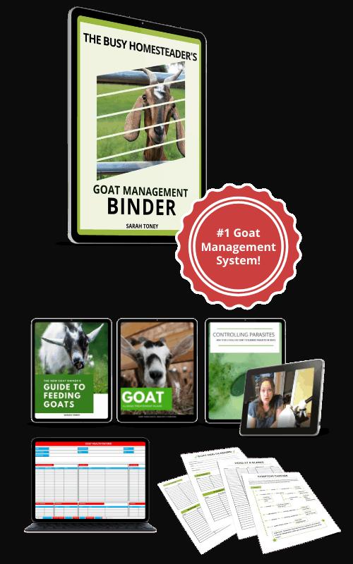 preview of goat management binder system