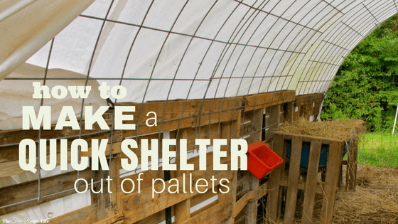 How To Make A Quick Shelter Out Of Pallets The Free