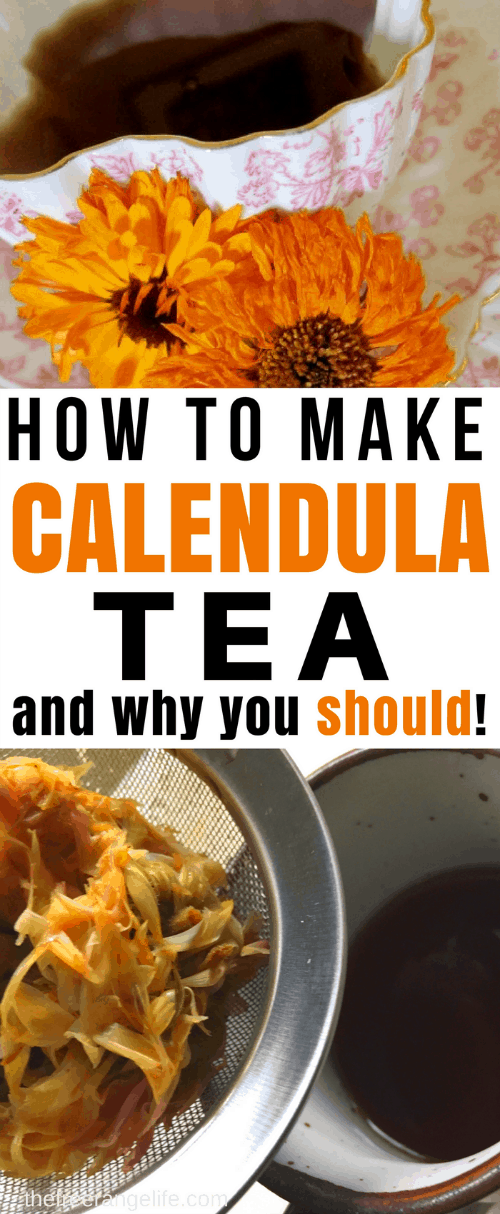 Calendula tea is the simplest way to get all the amazing benefits from calendula flowers. Learn how to make calendula tea and why you should! Herbal healing | Natural Health | Alternative Remedies