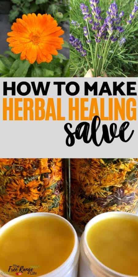how to make herbal healing salve