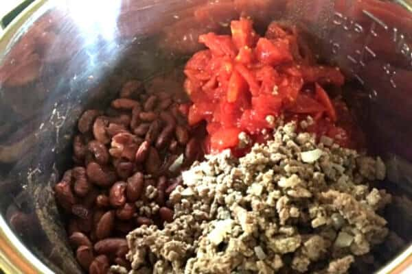 instant pot chili ingredients