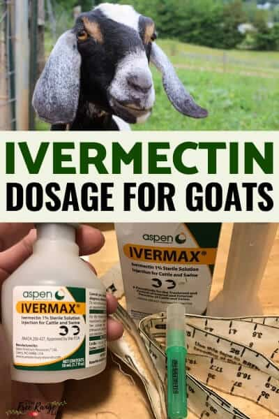 ivermectin dosage for goats