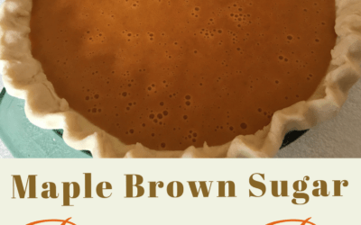 Maple Brown Sugar Pumpkin Pie