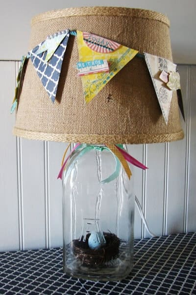 Spring Banner Lampshade