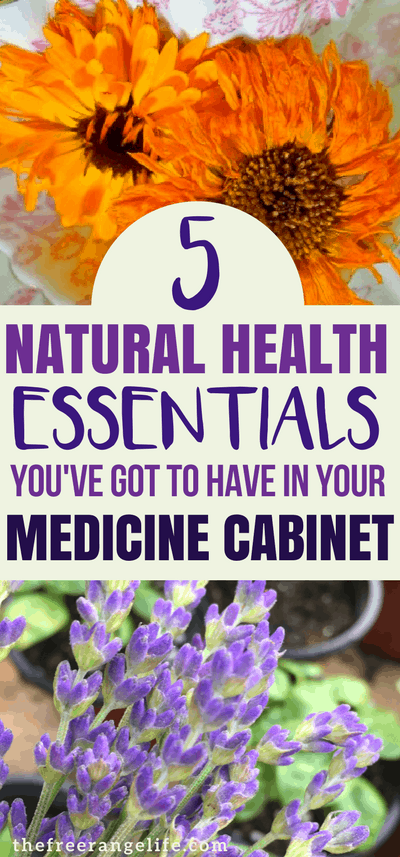 5 Natural Health Essentials that everyone should keep in their medicine cabinet | Natural Health | Alternative Remedies | Herbal Remedies