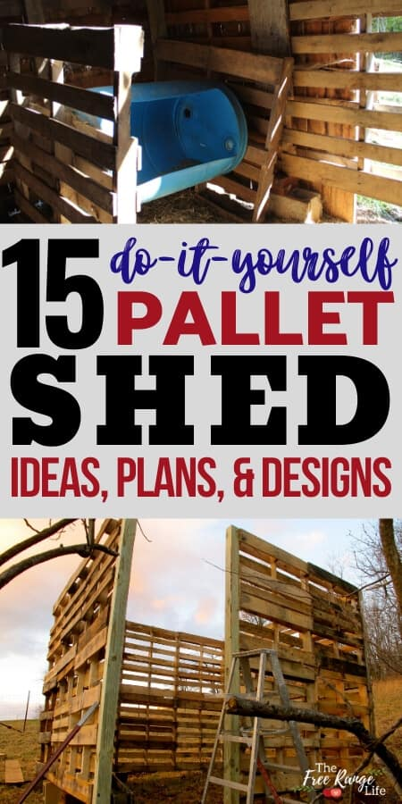 Do you need a livestock barn or storage shed? Try out some of these amazing DIY Pallet Shed, Barn, and Building Ideas that use free pallet wood as a base!