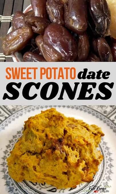sweet potato date scones recipe