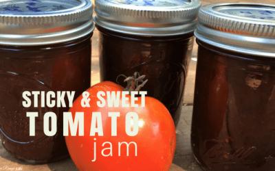 Sticky, Sweet CrockPot Tomato Jam