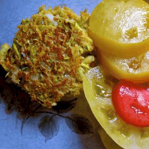 Fake Crab Cakes Zucchini